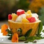 Salát z melounů - piel de sapo a vodní