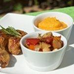 Bylinkové kuře se zeleninou