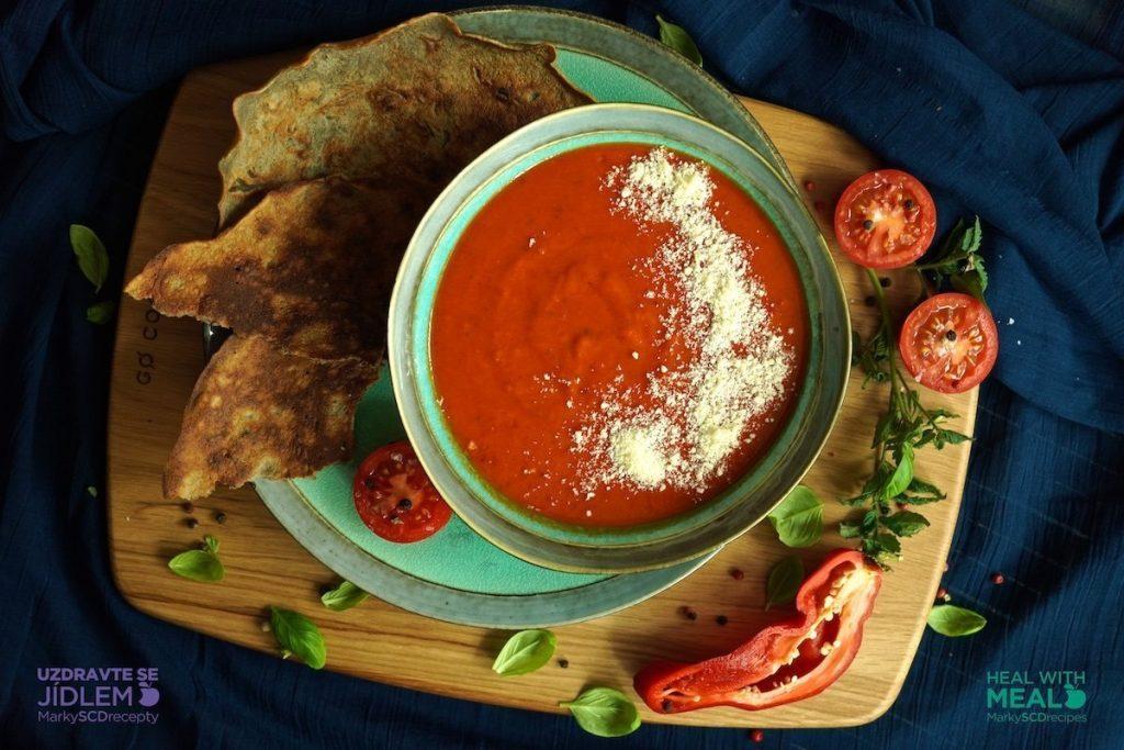Podzimní rajčatová polévka