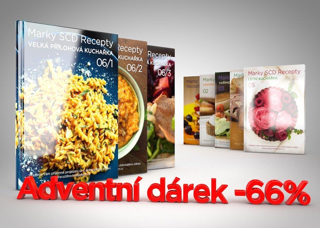 Marky SCD recepty -66%