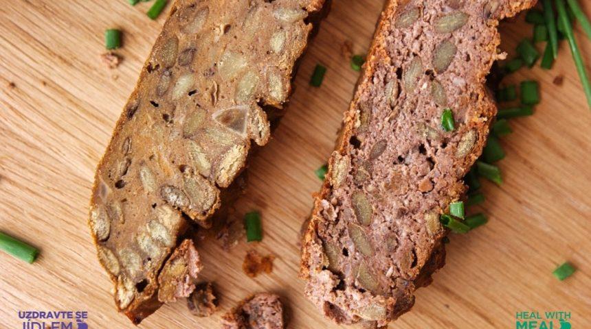 Čočkový chléb – čočková sekaná